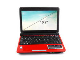 pouce 1gb Promotion Ordinateur portable portable 10,2 pouces pratique S30 Intel Atom D425 1,8 GHz Win7 OS Ordinateurs portables 1G RAM 160G Notebook