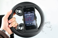 Wholesale Game Wheel Seaker For iPhone4 Phone Speaker Mini Speaker For S G