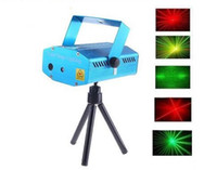 Wholesale Mini Red And Green Moving Party Laser Stage Light Projector Open herding Disco DJ Party Light