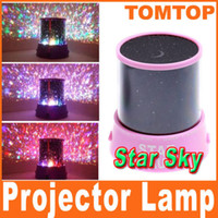 Wholesale Amazing fantastic Colorful Star LED Star Master Light beauty Starry sky Light Lighting Projector H684
