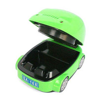 Wholesale New arrival mini Portable Car Style Shape Smokeless Cigarette Healthy Ashtray