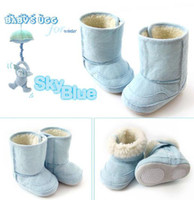 Wholesale Baby boys snow boots girls booties boys shoe Infant winter boot children s shoes first walker TZ854