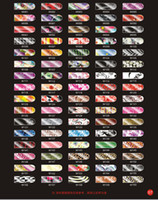 Wholesale 50sets set Colors Optional Nail stickers magic Nail Patch Minx Style sticker W01
