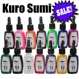 Wholesale Sale Tattoo Ink Colors Set oz ml Bottle Tattoo Pigment Kit TI102