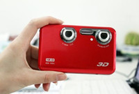 Wholesale 3D Digital Camera MP D Camera with Naked Eye2 LCD Clear Screen
