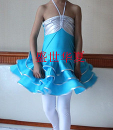 Wholesale Children s Dancing Latin Skirt amp Tutu Wear Kid Latin Set