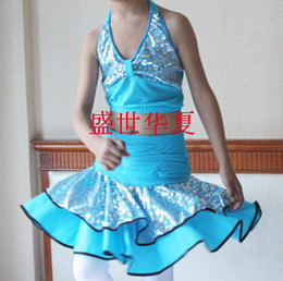 Wholesale Kid Latin Dancing Wear Children s Tutu Suit