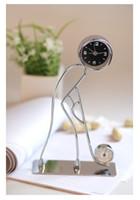 Alarm Clocks Digital  Clock and Thermometer Movement Type Iron Clock Thermometer Hockey Clocks 5 pcs