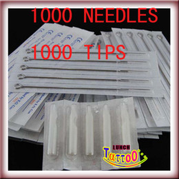 Wholesale 1000 PRE STERILED TATTOO NEEDLES AND TIPS Express Supply