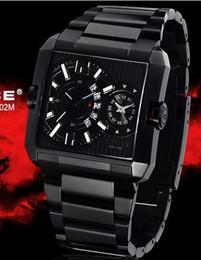 Police Men's Rogue Black IP Dual Time Dial Steel Date Quartz Watches Men Wrist Watch PL-11745MSB 02M