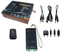 Solar Chargers No Universal Free DropShipping Solar Battery Charger for Mobile Cell Phone MP3 MP4 US or AU or UK EU plug