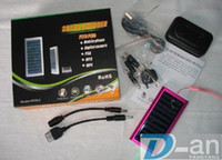 Wholesale Solar Battery Charger for Mobile Cell Phone MP3 MP4 US or AU or UK EU plug