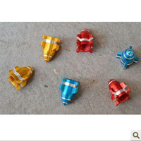 Gas cap  Special offer red golden blue aluminum alloy beauty mouth gas cap-rocket launchers modelling