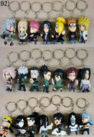 Wholesale Anime Naruto Roms Key chain pendant Permanent collection