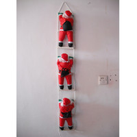 Wholesale Christmas Ornament Ladder SANTA Claus Toy IN Length