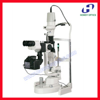 Wholesale S350DC steps magnification digital slit lamp microscope with or without camera optional