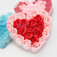 Wholesale new Arrival Artificial Soap Rose Flower Flowers Wedding amp Christmas amp Valentine s Day Novelty Gift