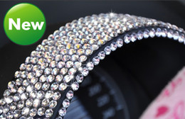 Wholesale 30sheet mm Self adhesive Rhinestone decorate Stickers Decals for car computer mobile Bling