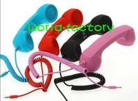 Wholesale HD MIC mm Retro POP Phone Handset For Iphone Promotional