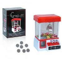 Wholesale 2011 New creative mini grasp dolls claw vending machines candy machine grasp objects music machine