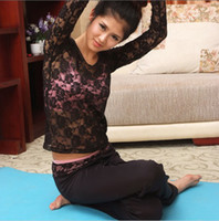 Wholesale YoGa Suit Sport and Fitness Gym Clothes YoGa Suit Fashion Lace cutout