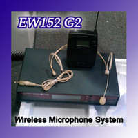 Wholesale Proffessional EW152 G2 ME3 UHF Headset Microphone Wireless System EW G2 Wireless Microphone Syst