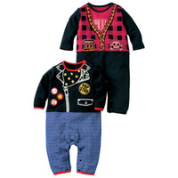 9-12 Months Medium Black Baby rompers bodysuits onesies boys shirts tuxedo jumpsuit jumper top shortalls jumper outfits YX224