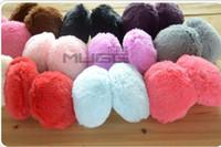 Wholesale New Women s And Men s Soft Fur Fluffy Plush Ear Warmer Muff Band j856ggg