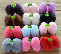 Wholesale New Women s And Men s Soft Fur Fluffy Plush Ear Warmer Muff Band