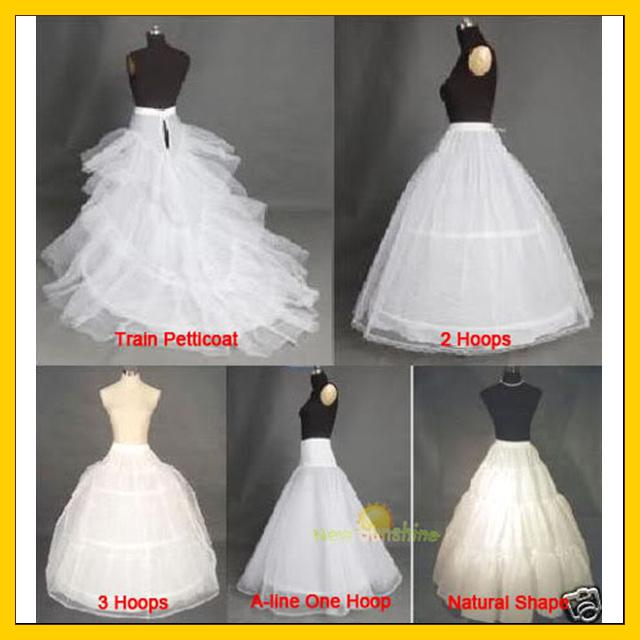 5 kinds petticoat can choosebridal accessories bridal for Can t decide on wedding dress