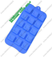 Wholesale 1 pc holes ice mold ice tray food grade silicone chocolate mold