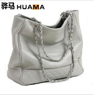 Brand New Women's Bags Shoulder Bag Open Mouth Style Metal Chain ...