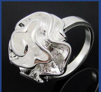 Wholesale Retail lowest price Christmas gift new silver fashion Ring R07