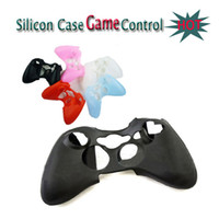 Wholesale Silicone case for Game controller silicon sleeve skin protector Christmas Birthday Gift