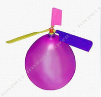 Wholesale Balloon Helicopter Inflatable Balloon Toy Children Toy Self combined Balloon Kids Toy