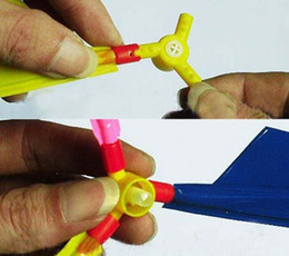 DIY Balloon Helicopter Propeller Aircraft Self-combined Balloon Aircraft Kids Toy 300pcs