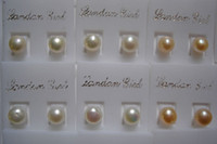 Wholesale Fashion Jewelry Cheap Promotions mm freshwater pearl silver earring pairs