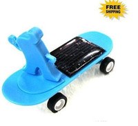 Wholesale Mini Solar Scooter SpongeBob With Micro Vibration Motor for XMAS Gift