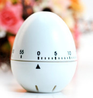 Wholesale High quality Minutes Mechanical Kitchen Timer Egg Shape