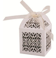 Wholesale Paper Orchid Filigree Favor Boxes laser box Fashion box Gift box