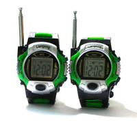 Wholesale TWO WAY RADIO WALKIE TALKIE KIDS CHILD SPY WRIST WATCH WRISTLINX GADGET TOY WALKY TALKY