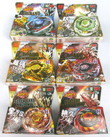 Wholesale New arrive Rapidity Beyblade D Beyblade Metal Fusion Beyblade models mix Spin Top Toy fo
