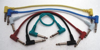 Wholesale set pack quot TRS quot TRS cm guitar effects patch cables effect cable