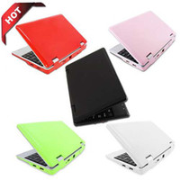 7 inch 8650 - HOT inch Android VIA Wifi E Book Laptops PC WIFI GB black blue pink white