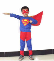 Wholesale Halloween Children s clothingThe game clothing Performance clothing Superman costume