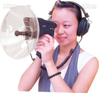 Wholesale TOP hot Bionic Ear Spy Bird Watcher Meters Sound Distance with Quality Headphone by HKPost