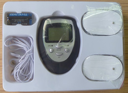 Wholesale DHL UPS Muscle Massager Slimming Electronic Pulse Burn Fat GYM