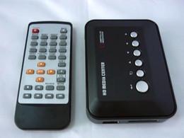 El jugador del Centro del reproductor multimedia HD 1080P H.264 MKV RM RMVB AVI VOB Hdd