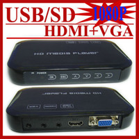 Wholesale Full HD P HDD Media Player HDMI Media Center RM RMVB AVI MPEG4 H MKV USB SDTV Player