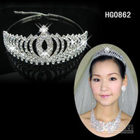 Promotion! Gorgeous Crystals Wedding Bridal Tiaras Alloy wit...
